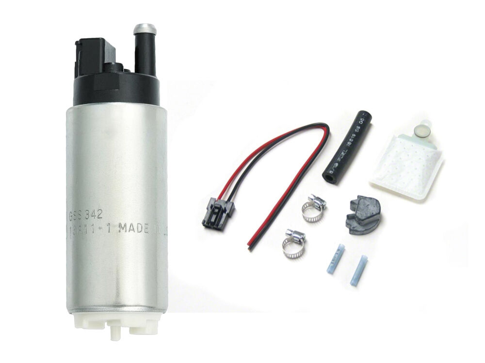 s l1000 92 00 honda civic walbro gss342 fuel pump 255 lph racing new ebay  at bakdesigns.co