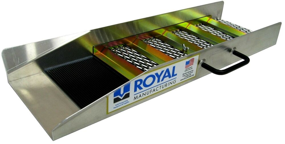 24 Quot Compact Sluice Box By Royal Manufacturing Ebay