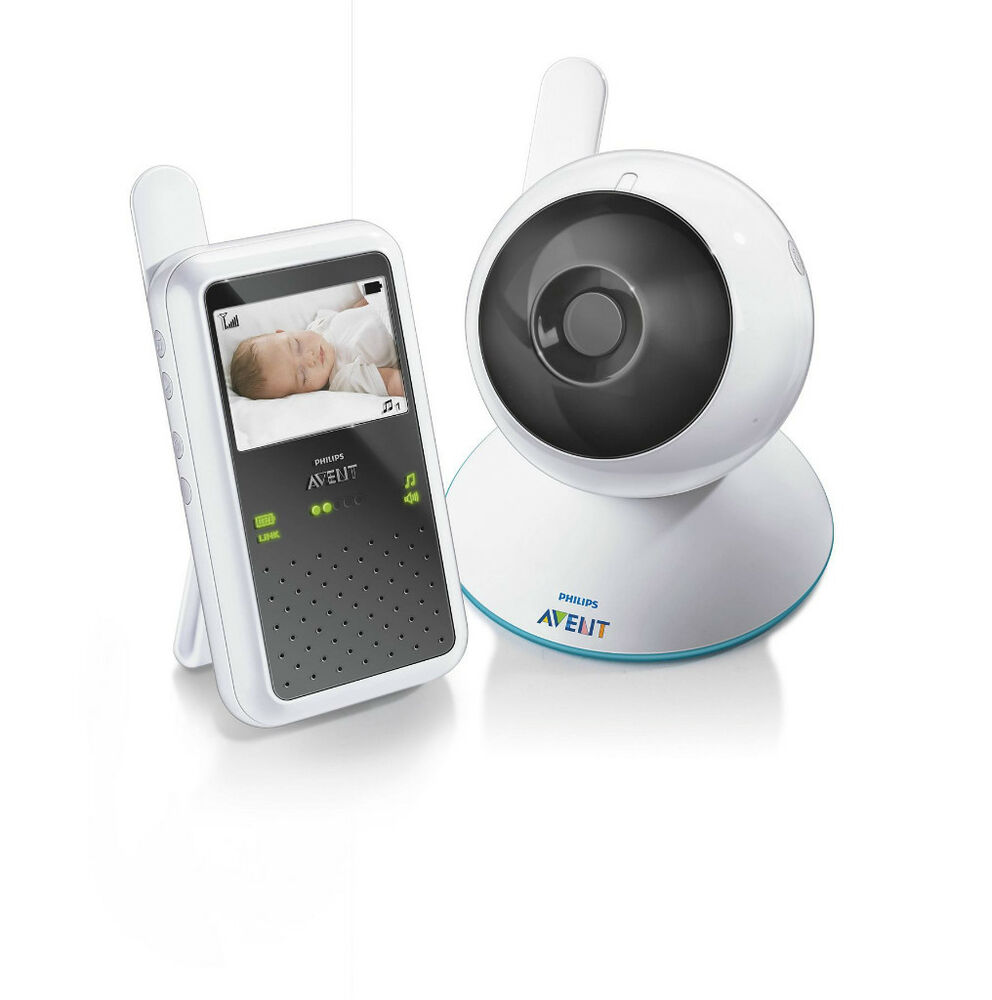 philips avent digital video baby monitor scd600 00 ebay. Black Bedroom Furniture Sets. Home Design Ideas