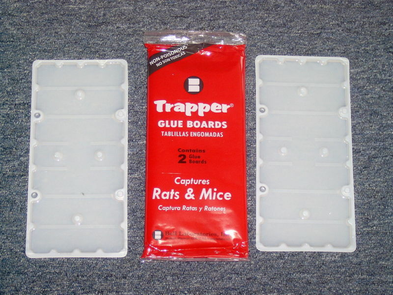 New Trapper Rat Glue Boards 12 Traps Really Sticky Pest