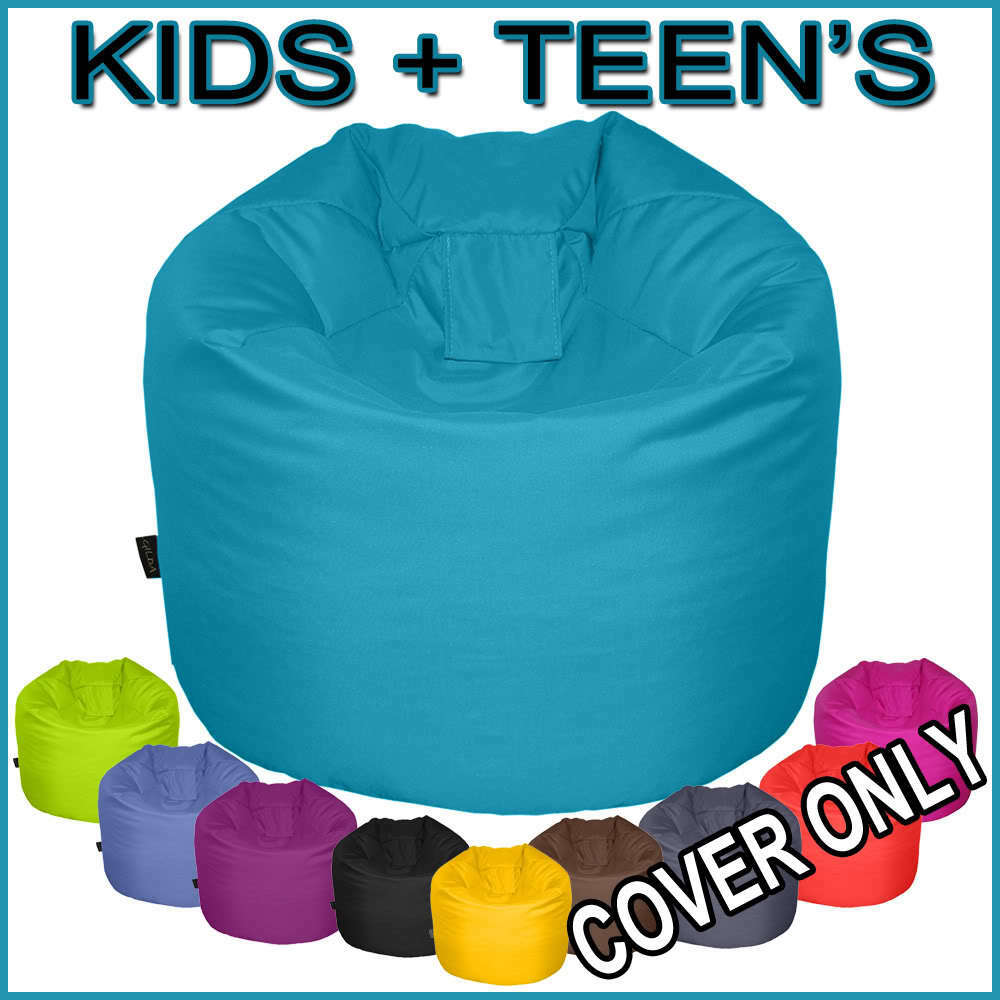 bean bag cover only kids teens sizes large extra large wipe clean gilda ebay. Black Bedroom Furniture Sets. Home Design Ideas