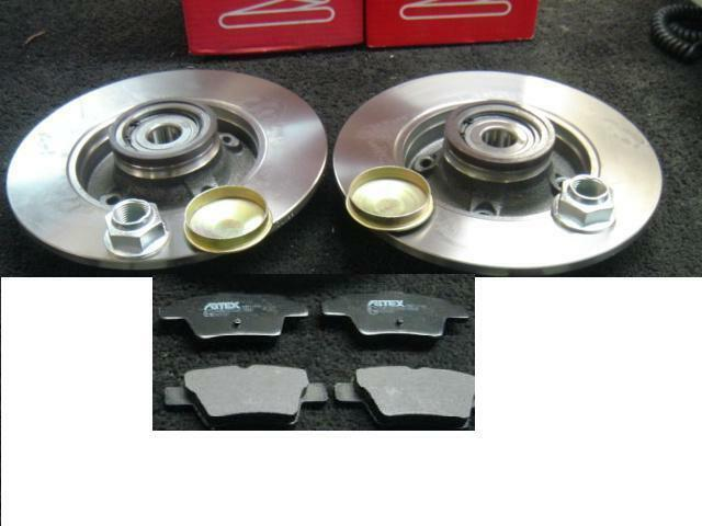 citroen c4 grand picasso rear brake disc wheel bearing rear brake pads ebay. Black Bedroom Furniture Sets. Home Design Ideas