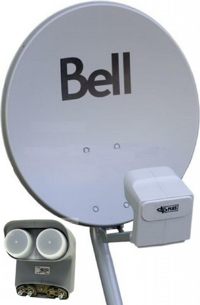 Bell Expressvu How to connect 4 HD receivers/TVs to one dual LNB dish