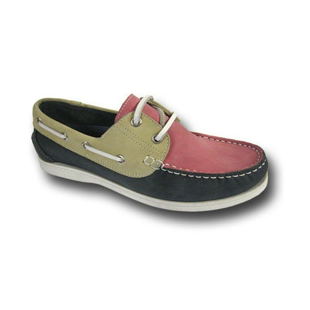 womens yachtsman seafarer leather deck shoes boat