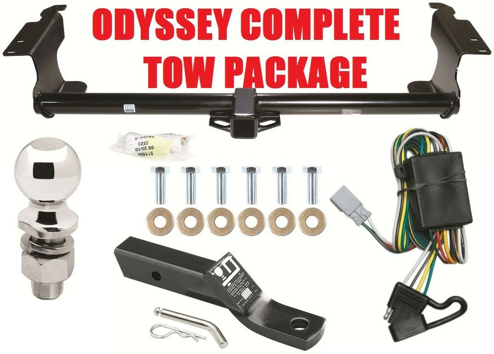 honda odyssey trailer receiver tow hitch package class  reese ebay