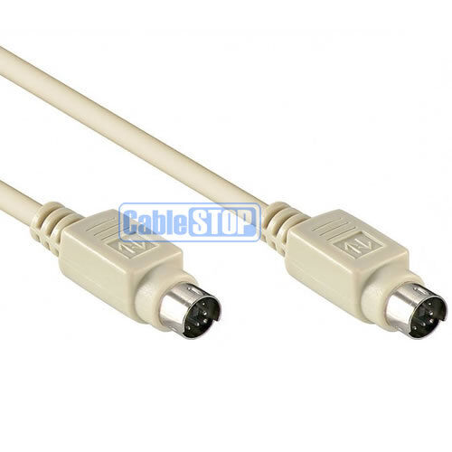 2m 6 Pin Mini Din Male To Male Ps 2 Pc Computer Mouse