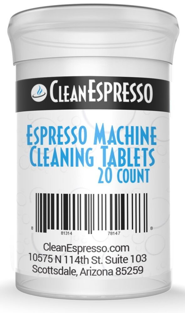 20 Pack Of Breville Espresso Cleaning Tablets Generics