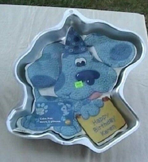 Wilton Blues Clues Dog Birthday Party Cake Pan W Insert