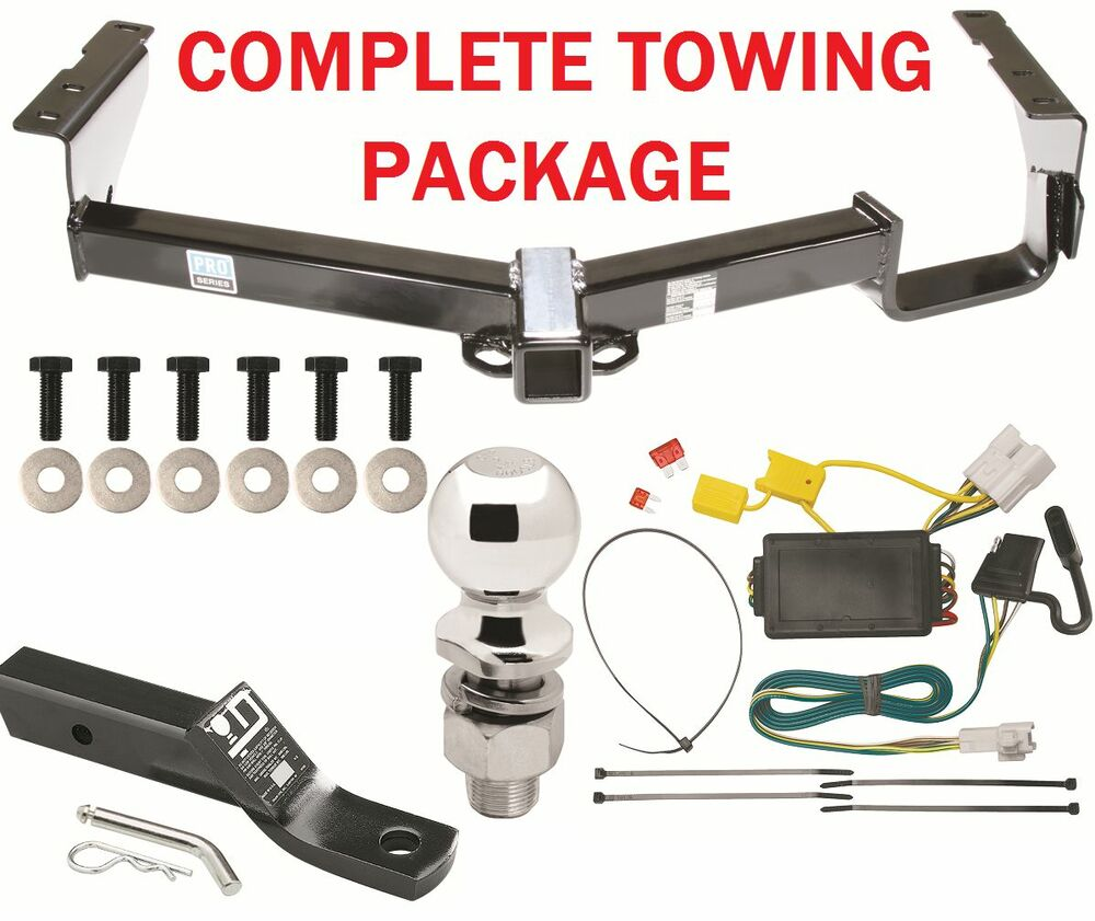 2008 - 2013 toyota highlander trailer hitch package ... trailer wiring for toyota tacoma hitch wiring for toyota