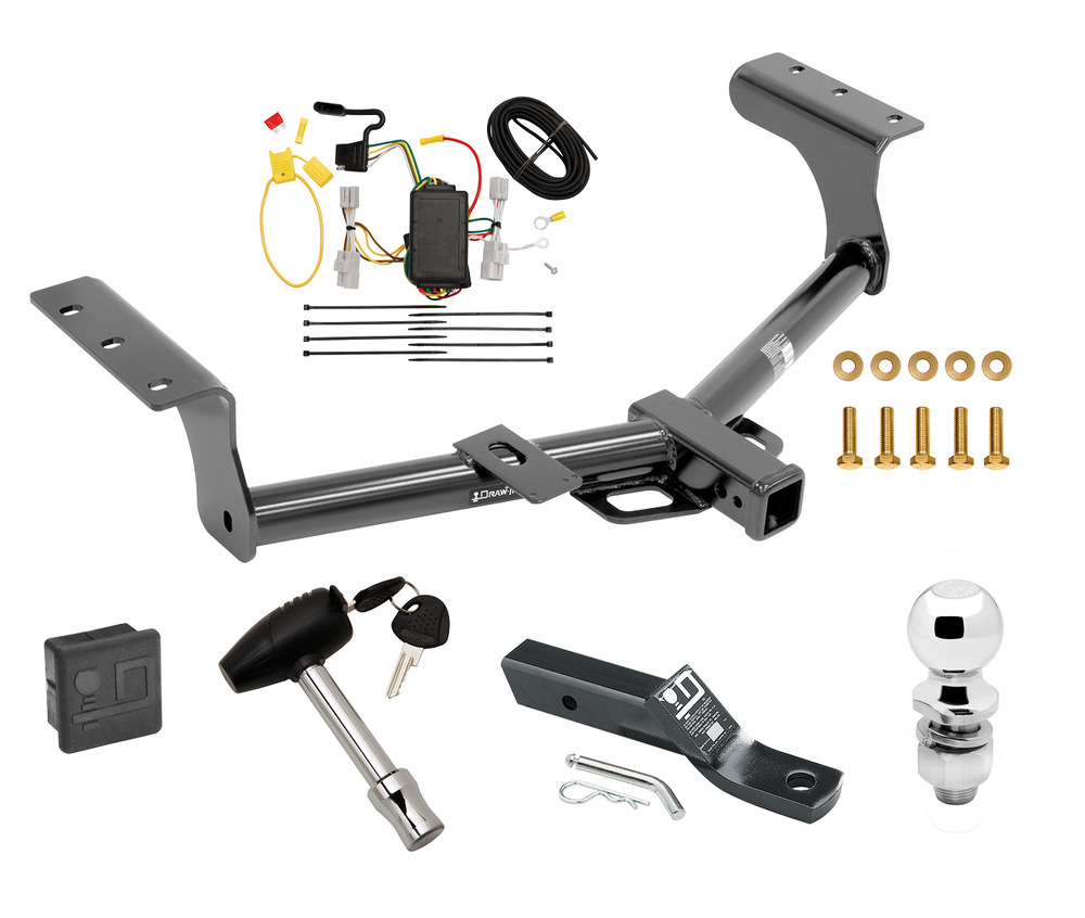Trailer Wiring Harness Rav4 : Toyota rav trailer hitch package class tow