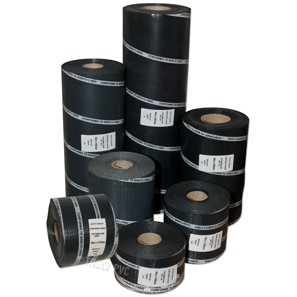 Damp Proof Material : Dpc damp proof course membrane m roll diy wall