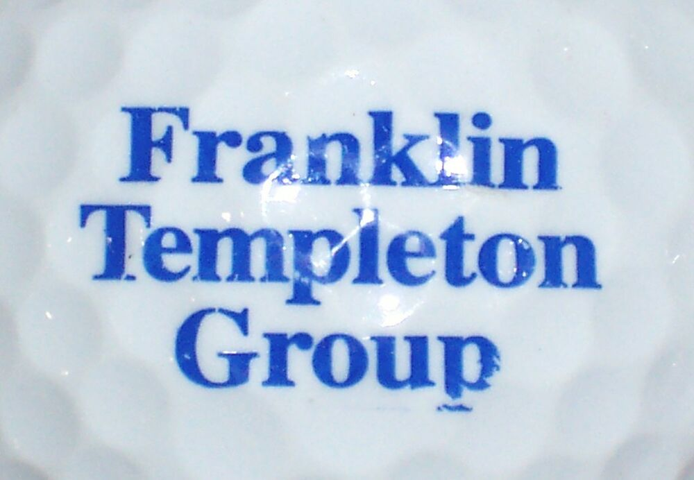 franklin templation - 1 franklin templeton group logo golf ball mutual fund