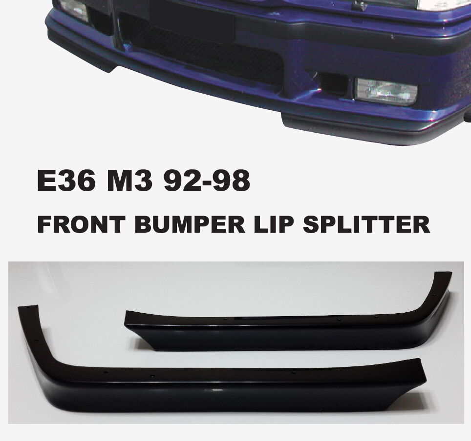 Bmw Z4 Splitter: E36 M3 Lip Bumper GT Front Spoiler Splitter Bottom 92-98