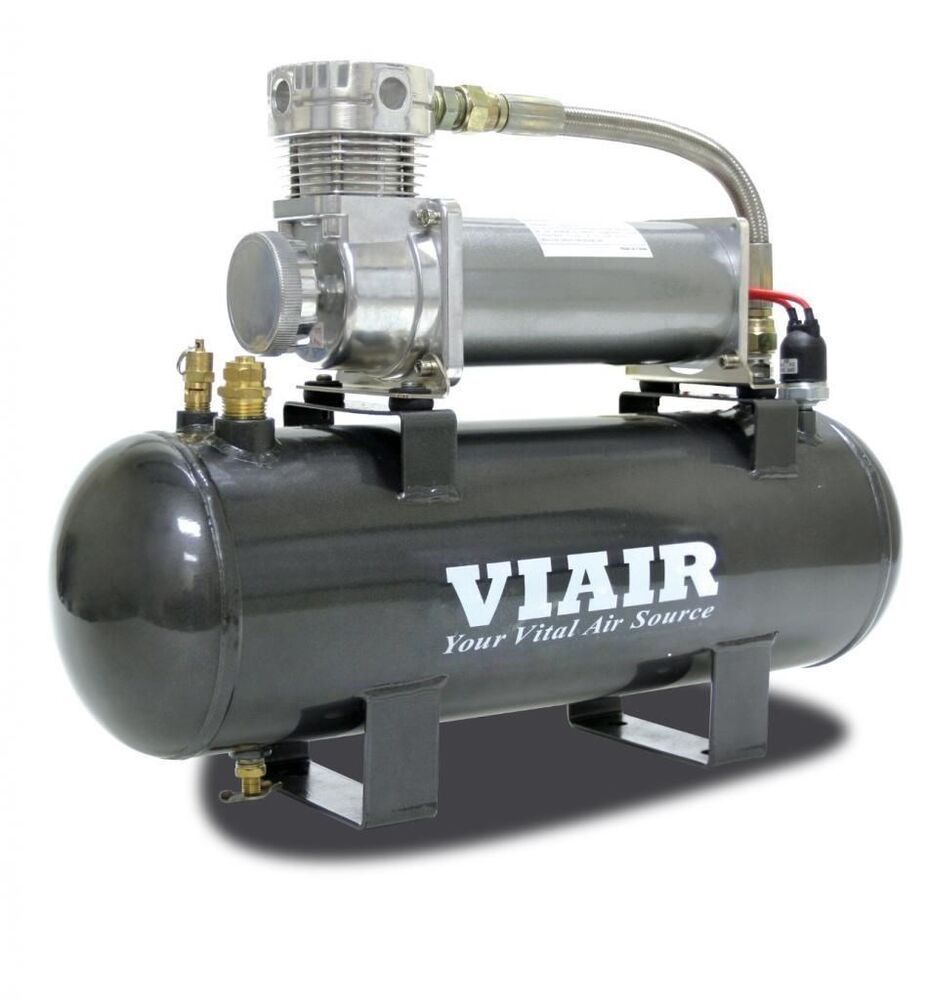 viair 20008 super duty 12v 200psi air system with 480c pewter compressor 689992356595 ebay. Black Bedroom Furniture Sets. Home Design Ideas