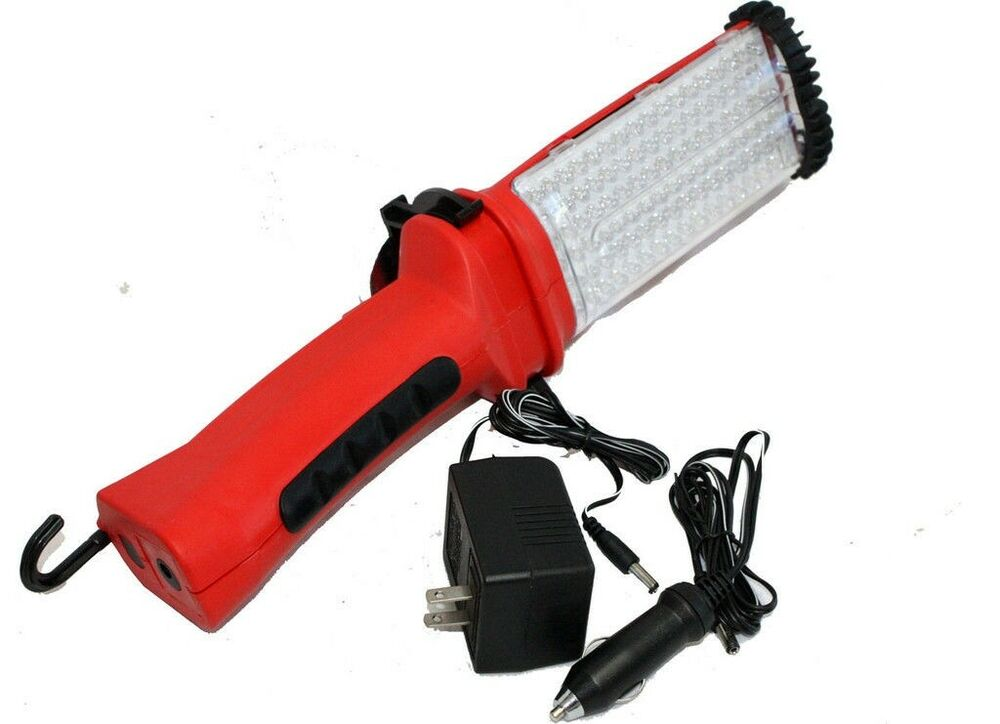 100cps bright led rechargeable cordless trouble mechanic work light. Black Bedroom Furniture Sets. Home Design Ideas