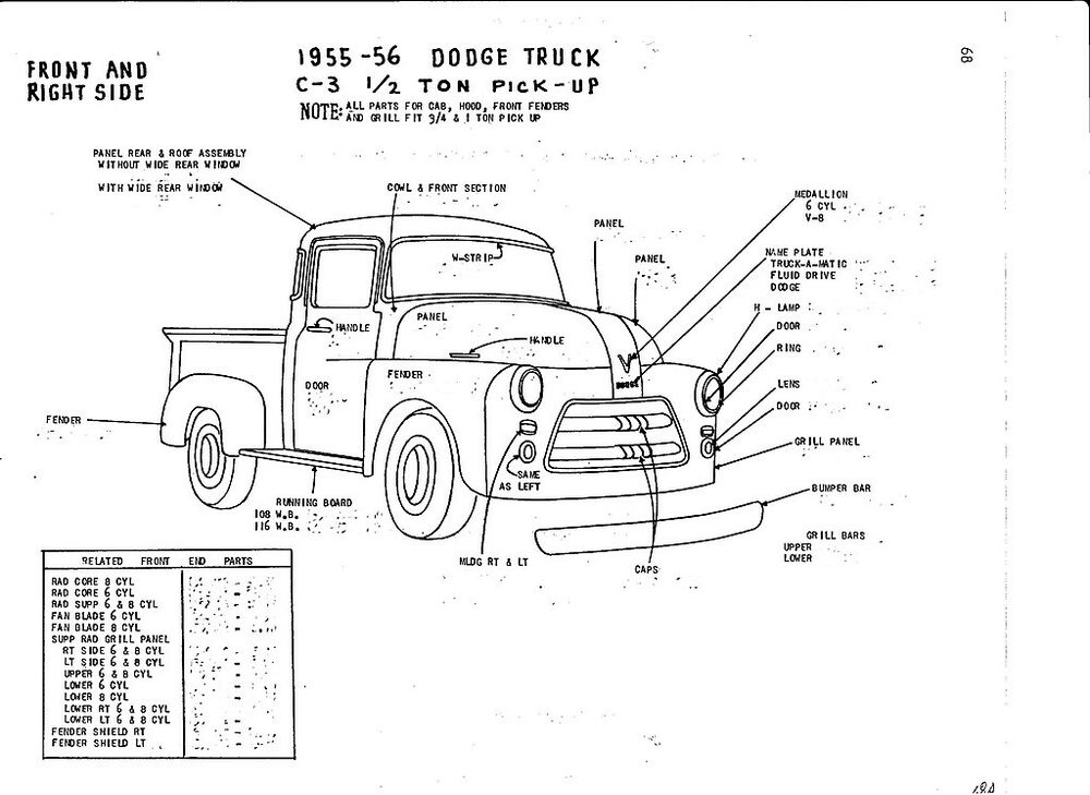 dodge ramcharger parts catalog