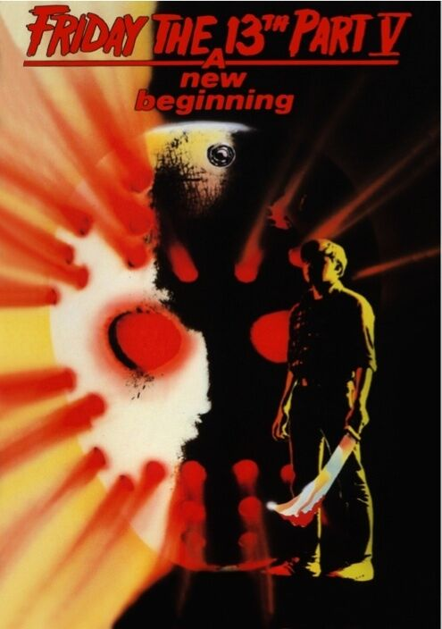 Friday The 13th Part V A New Beginning Movie Poster Horror