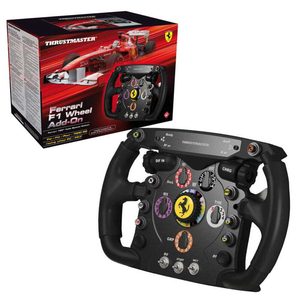 thrustmaster f1 wheel add on t500 rs tx wheel works with pc ps3 xbox one ebay. Black Bedroom Furniture Sets. Home Design Ideas