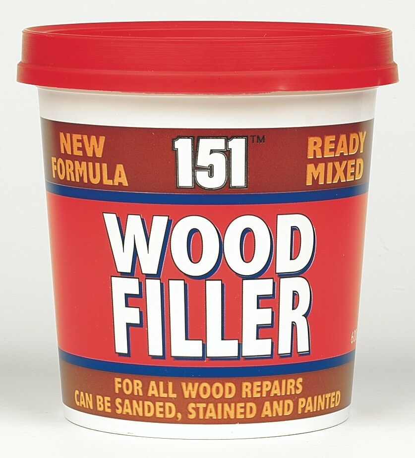 Tub wood filler sealant ready mixed flexible quick dry interior exterior 600g ebay for Exterior wood filler paintable