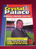 CRYSTAL PALACE - ANNUAL REVIEW 1997-1998 - TERRY VENABLES