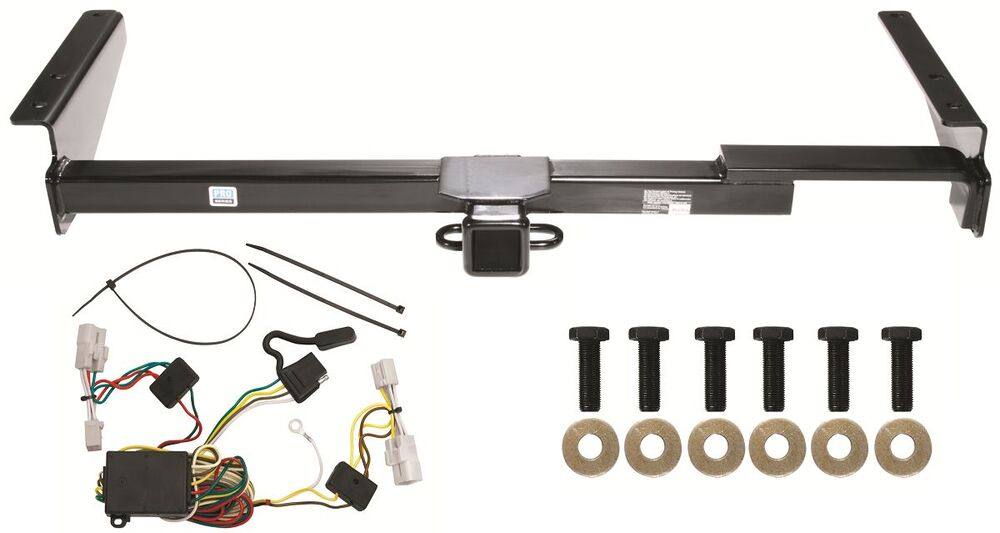 2001-2003 toyota highlander trailer hitch w/ wiring kit ... toyota tacoma trailer hitch wiring