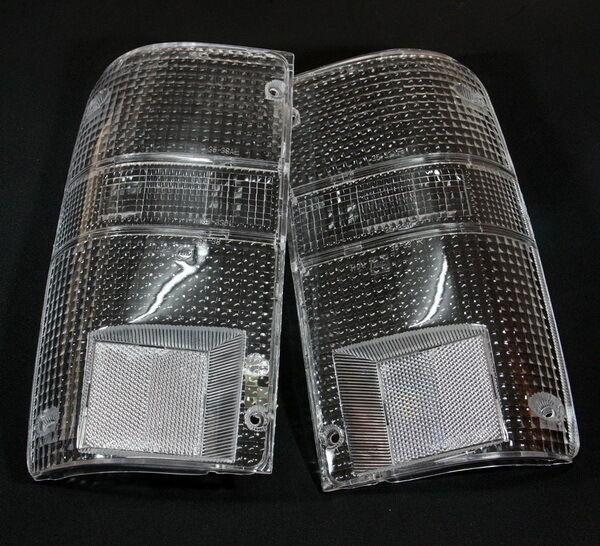 94 Toyota Pickup Truck: CLEAR TAIL LIGHT LENSES PAIR FOR TOYOTA PICKUP HILUX 1989