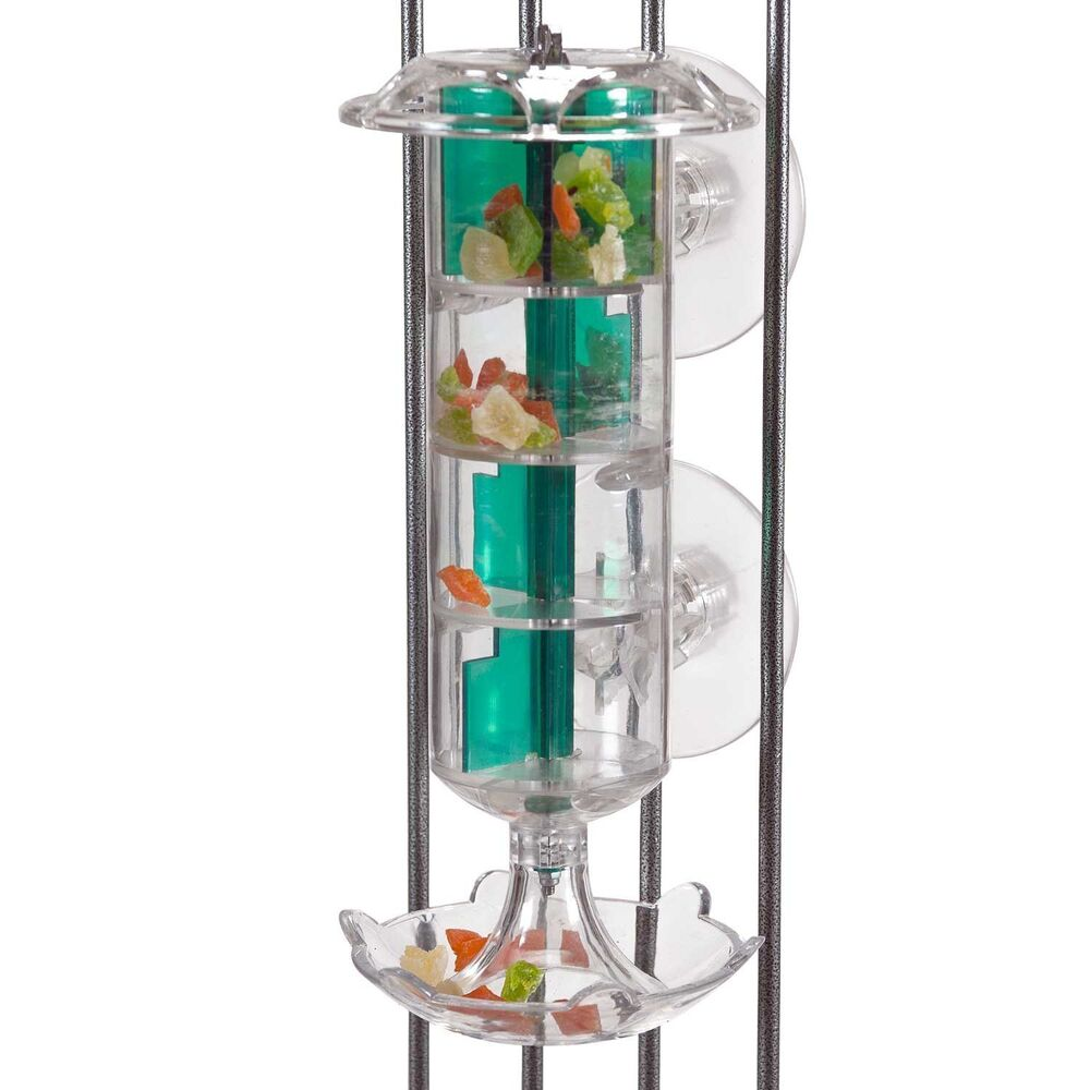 Bird Cage Toys : Parrot toy pet bird cage windmill foraging feeder for