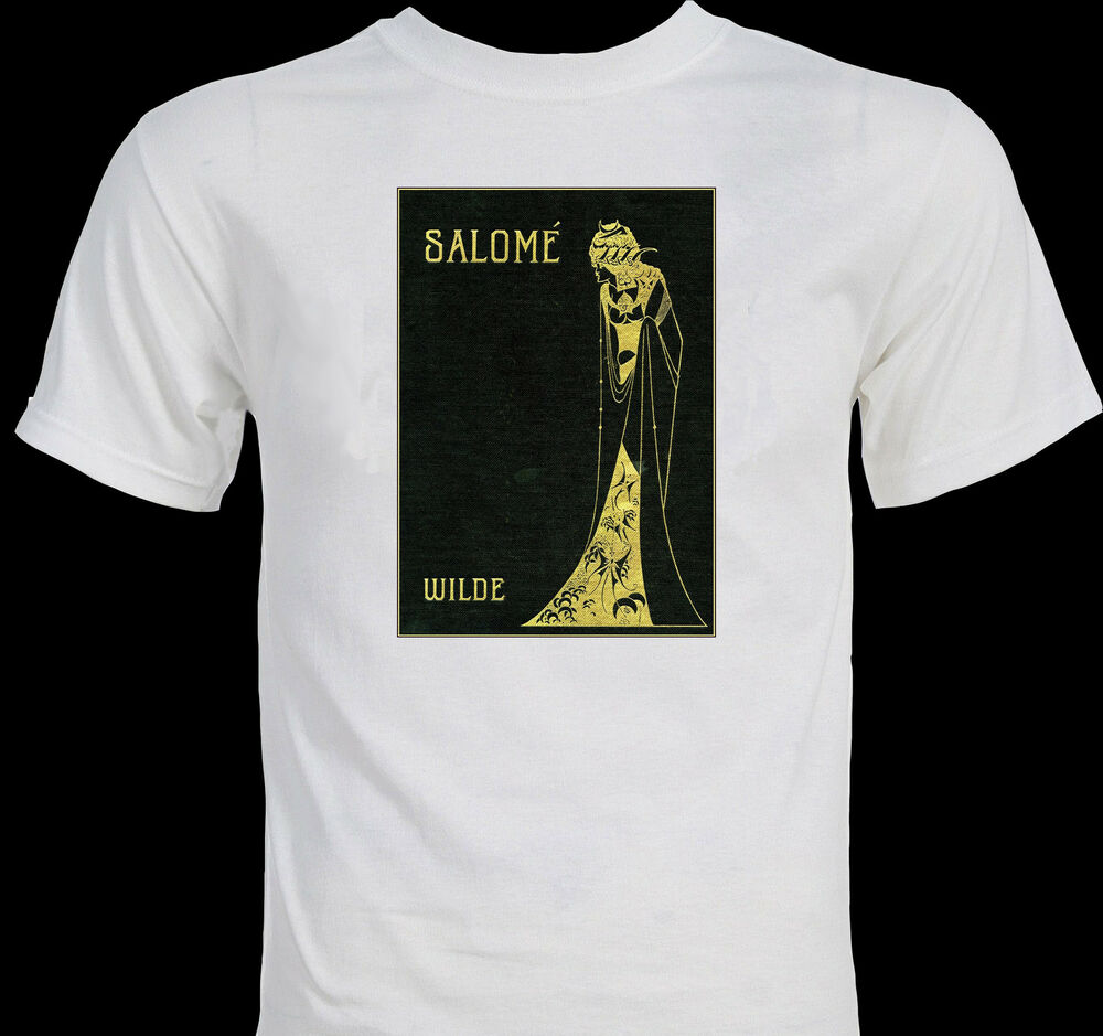 Classic Book Cover Tee Shirts : Oscar wilde quot salome aubrey beardsley book cover classic