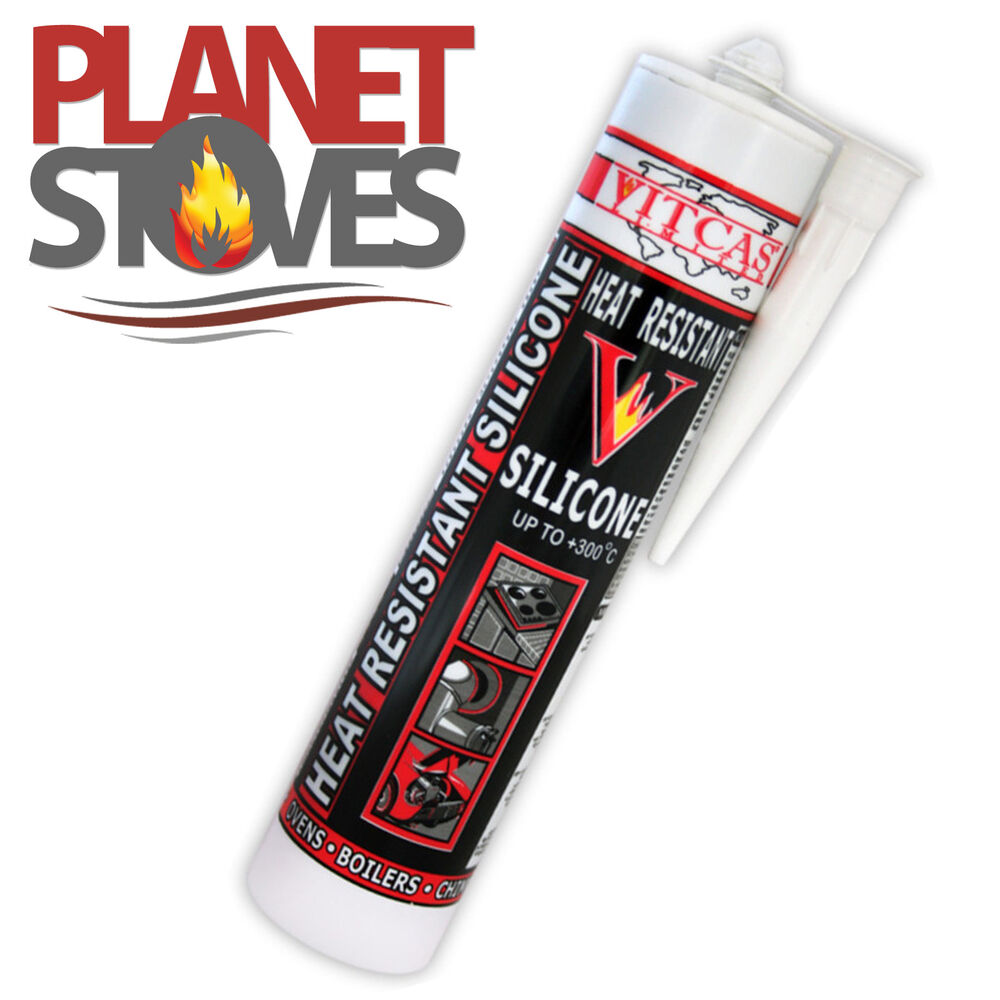 High Heat Caulking : High temperature heat resistant silicone sealant ebay