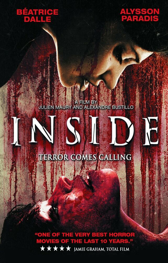 Inside movie poster french horror extreme gore martyrs for Inside french movie