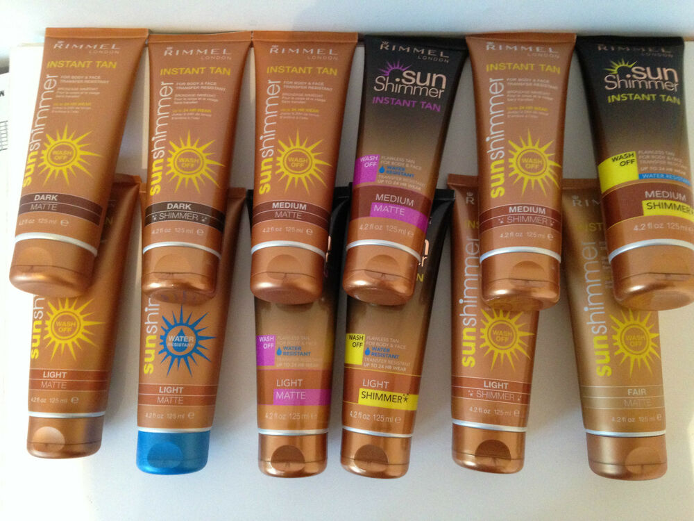 how to use rimmel instant tan