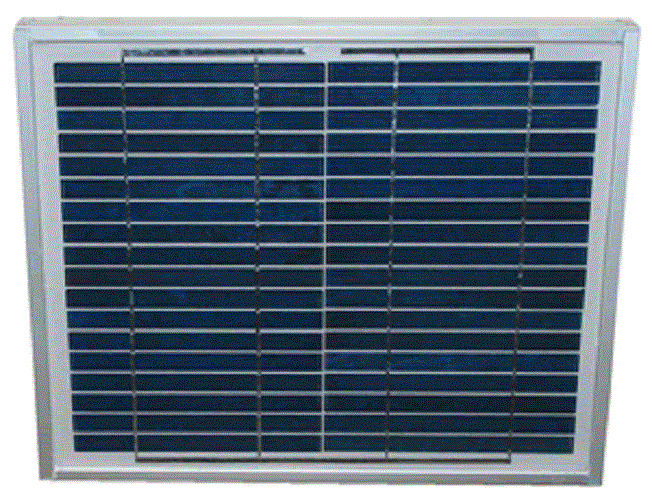 10 Watt Solar Panel For Solar Fence Or Dual Chargers 5 Yr