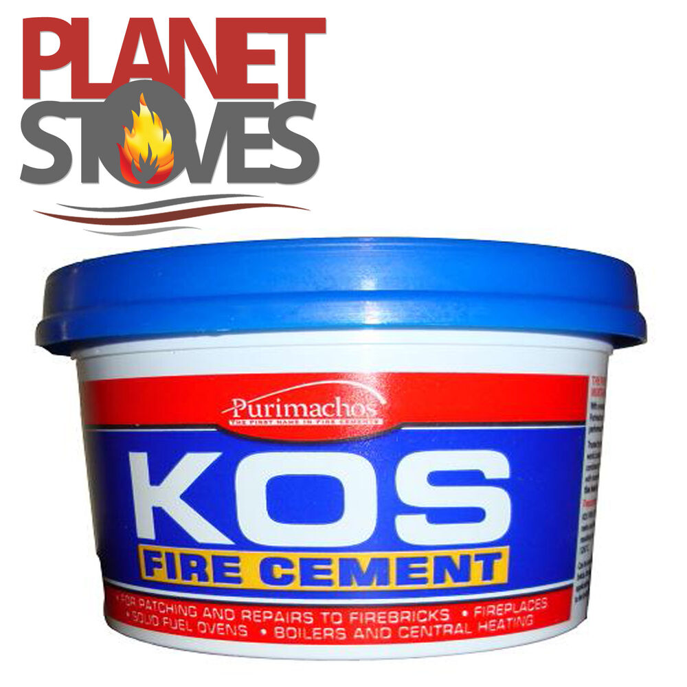 Fire Cement 500g Or 1kg For Flue Pipe Seals Ready Mix