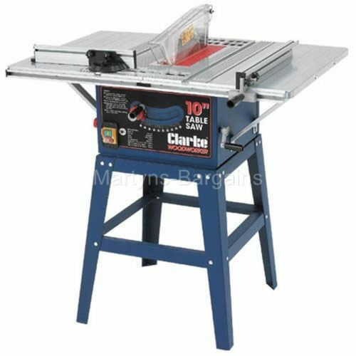 Clarke Bench Saw With Powerful 1500 Watt 230v Blade Table Saw Ebay