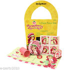 STRAWBERRY SHORTCAKE (3) FILLED GOODY FAVOR BOXES ~ Birthday Party Supplies