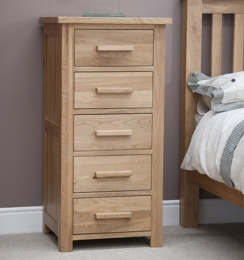 Windsor Solid Oak Furniture Narrow Wellington Bedroom