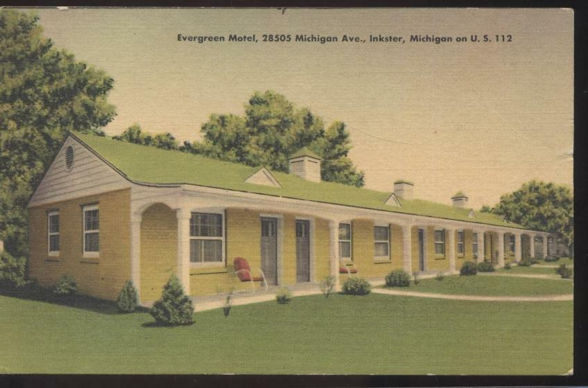 Evergreen Motel Inkster Mi