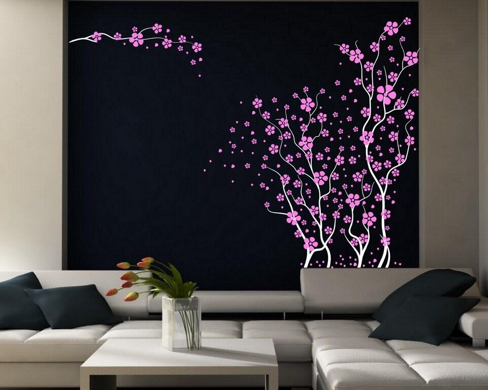 Blossom Tree Extra Large Wall Decal Japanese Cherry Blossom: Beautiful Large Wall Stickers