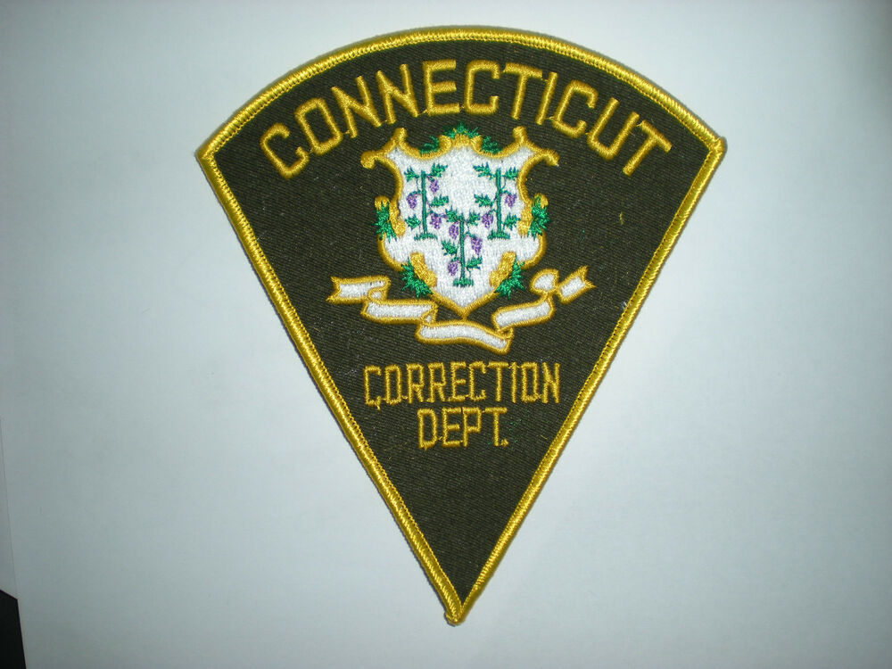 connecticut correction department patch ebay. Black Bedroom Furniture Sets. Home Design Ideas
