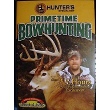HUNTER'S SPECIALTIES PRIMETIME BOWHUNTING DVD 2 1/2+ HOURS 18 HUNTS