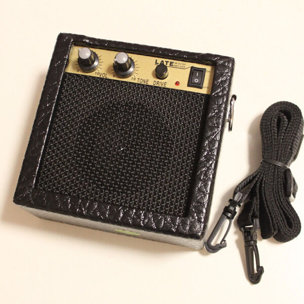 3w mini portable electric guitar amplifier amp free shipping worldwide ebay. Black Bedroom Furniture Sets. Home Design Ideas