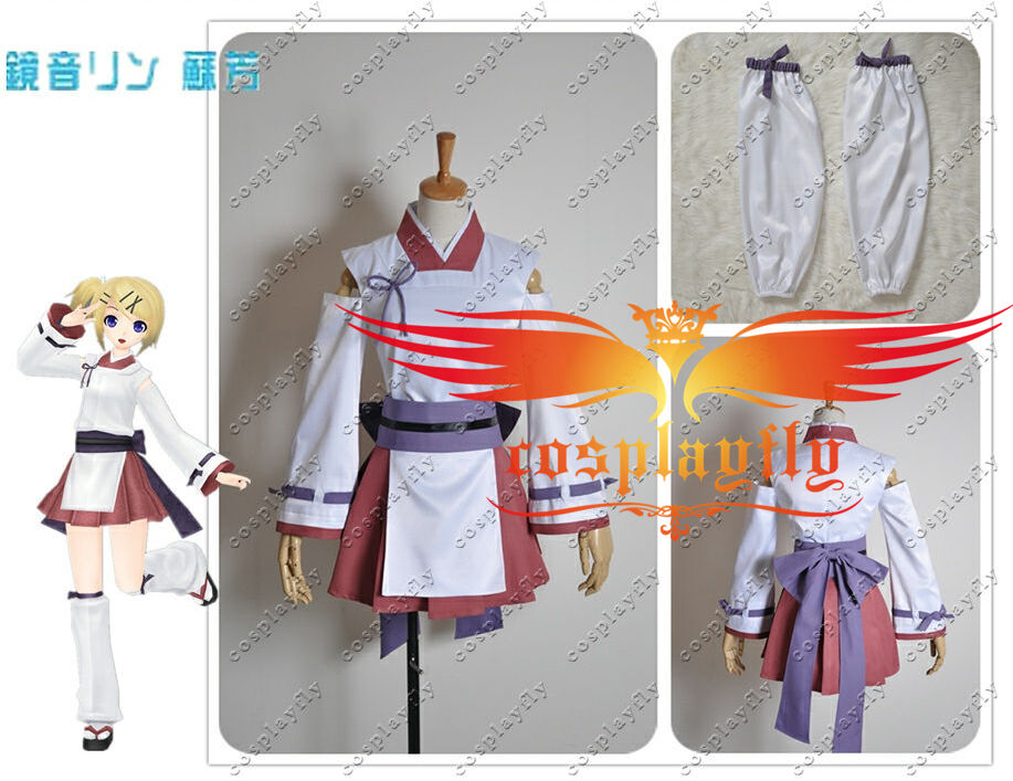 Vocaloid kagamine rin project diva extend cosplay costume ebay - Kagamine rin project diva ...