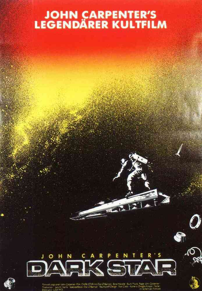 DARK STAR Movie Poster 1974 John Carpenter Sci-Fi Aliens ...