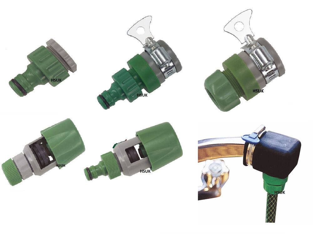 Kitchen tap hose connector snap action multi purpose rubber square mixer mixing ebay - Connect hose to kitchen tap ...