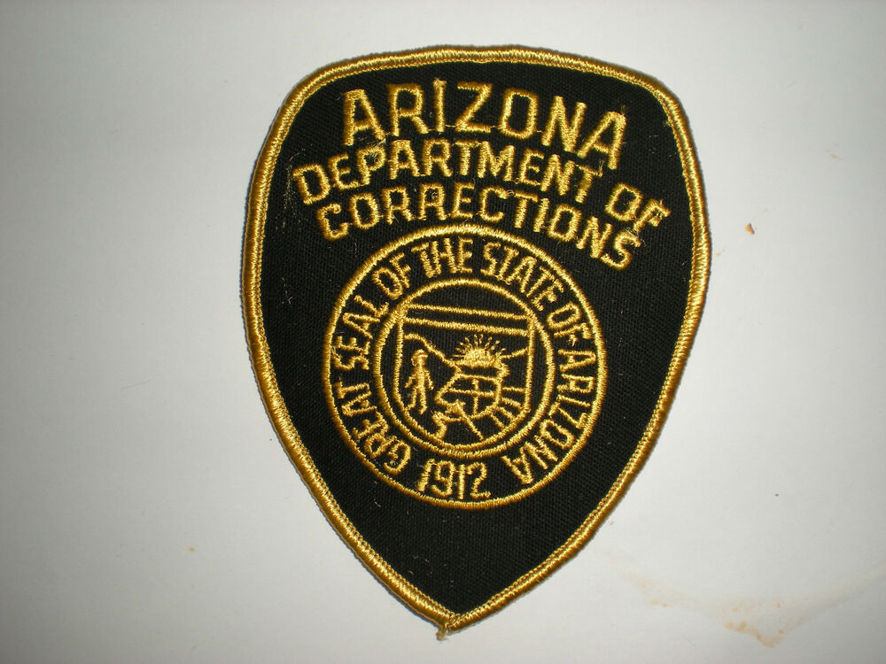 arizona state department of corrections patch ebay. Black Bedroom Furniture Sets. Home Design Ideas