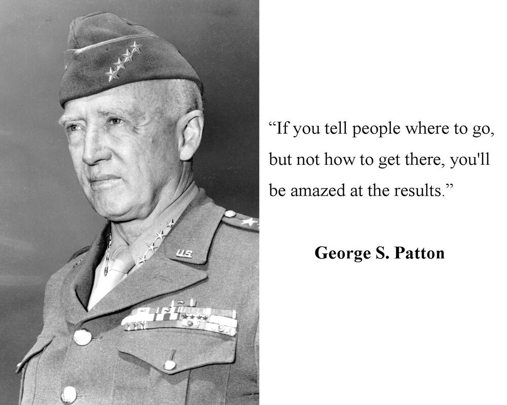 beliefs of general george s patton Many conflicting and some untrue stories have been printed about general george s patton and the third army he was true to the principles of his religion.