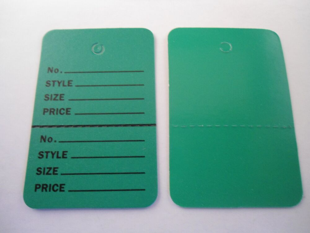 how to put price tags on clothes