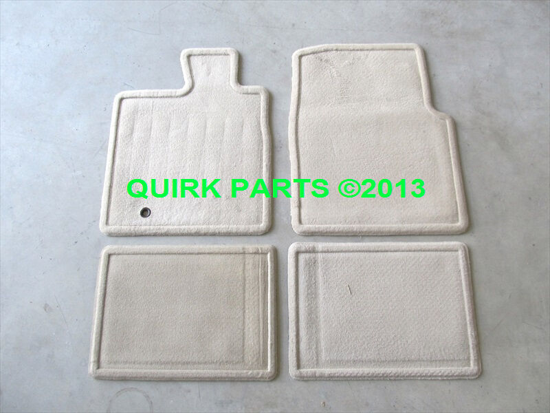 2005 2008 Ford F 150 Carpeted Floor Mats Lariat Pebble Tan