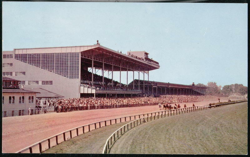 Baltimore Md Pimlico Horse Race Track Vintage Racetrack