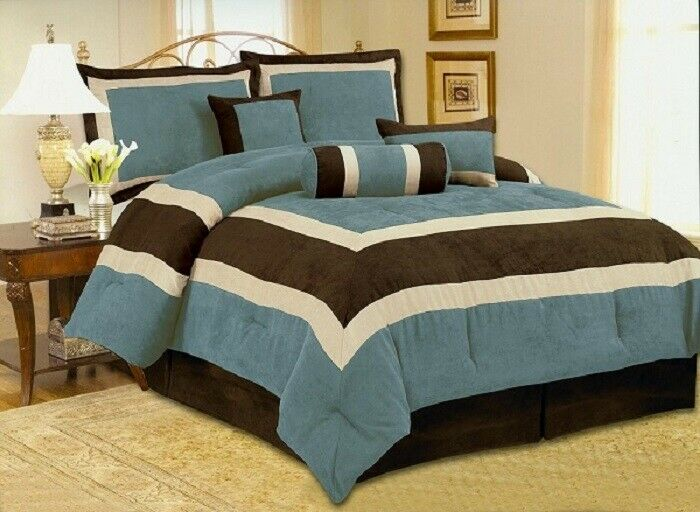 *DELUXE EDITION* Micro Suede Comforter Set Bedding-in-a